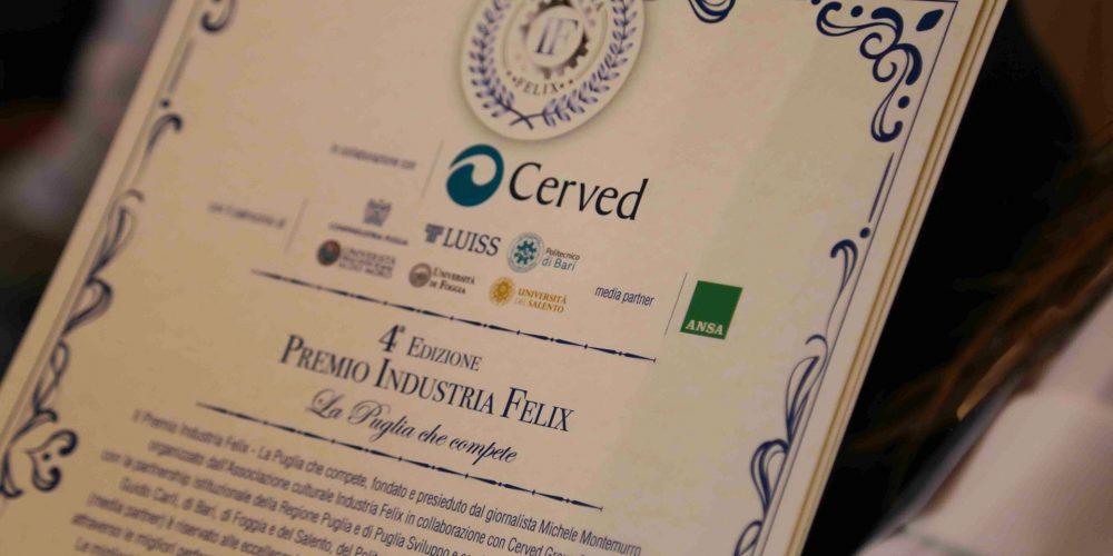 Quarta Edizione Premio Industria Felix La Puglia che compete