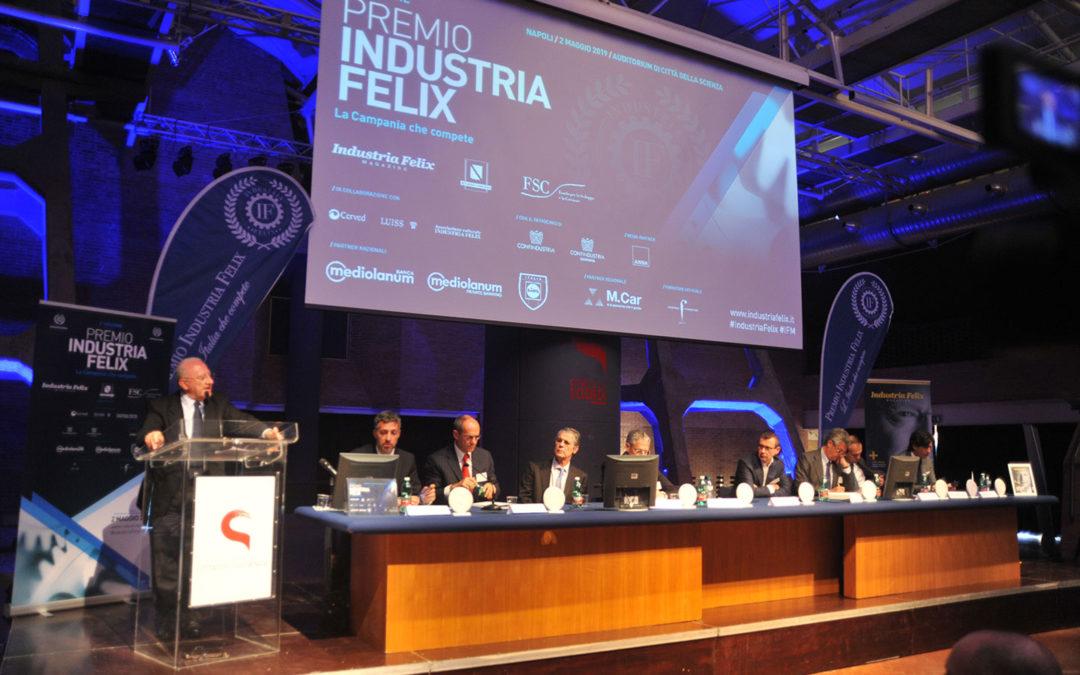 Imprese, Industria Felix: «La redditività netta delle pmi campane supera la media italiana»