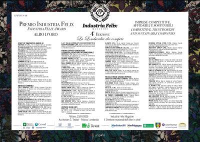 Albo d'oro Lombardia (Evento Milano)