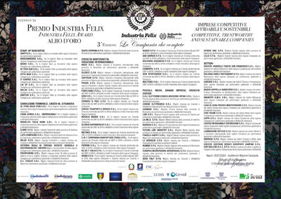 Albo d'oro Campania (Evento Napoli)