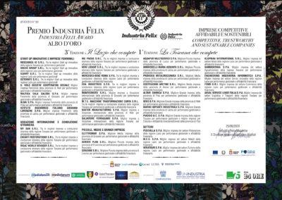 Albo d'oro Lazio e Toscana (Evento Online del 25/06/2020)