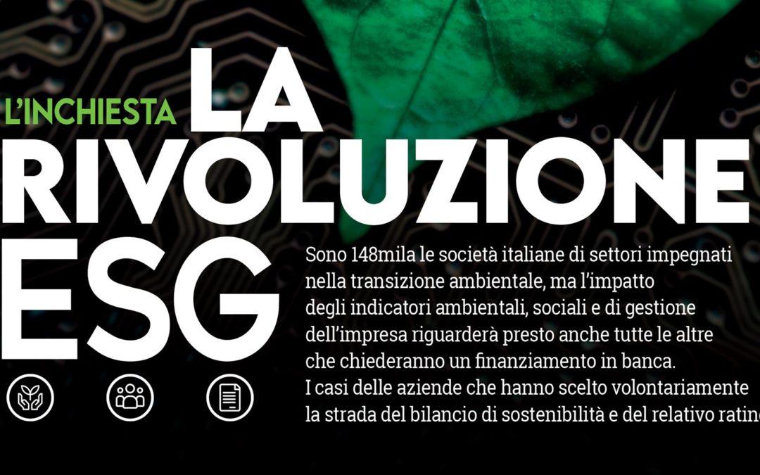 LA RIVOLUZIONE ESG: IN EDICOLA INDUSTRIA FELIX MAGAZINE 6