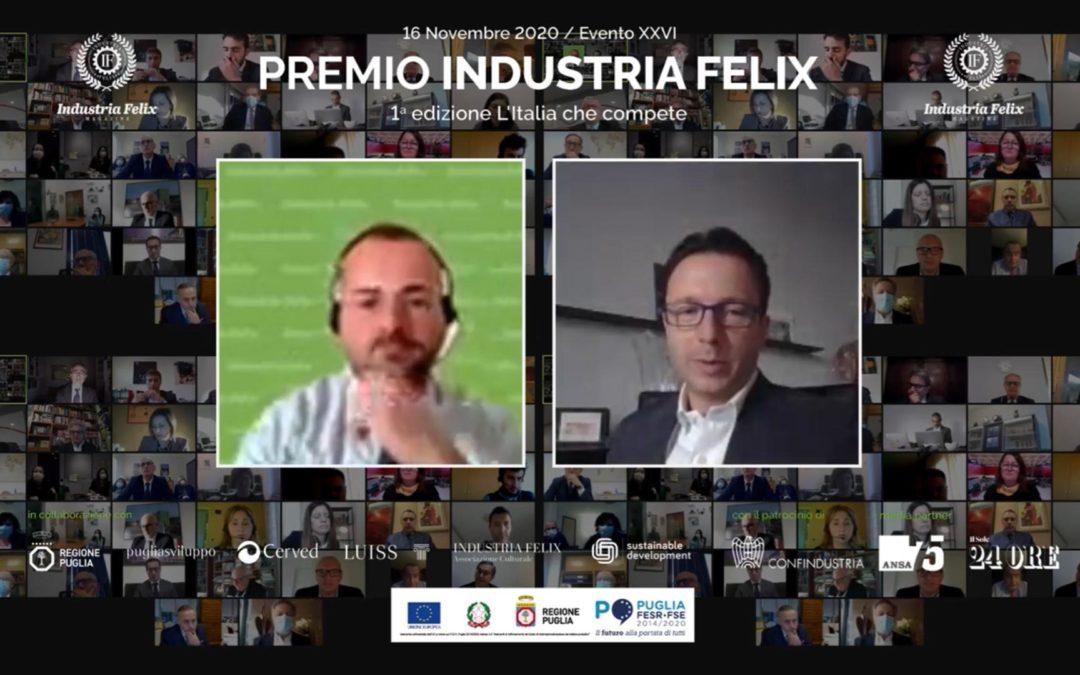 Industria Felix celebra l'Italia che compete: 122 imprese al top