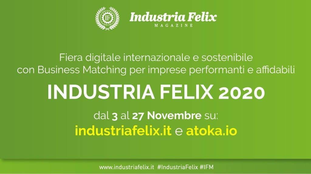 Industria Felix lancia una delle Fiere digitali   più competitive d'Europa per ricavi e redditività