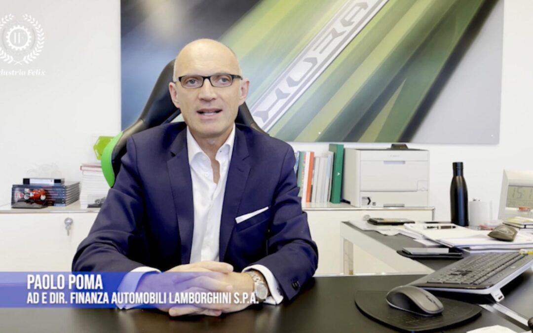L'AD di Automobili Lamborghini Paolo Poma